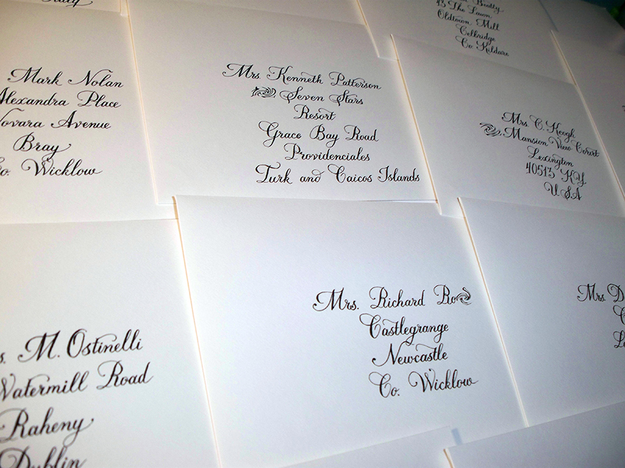Bickham lettering