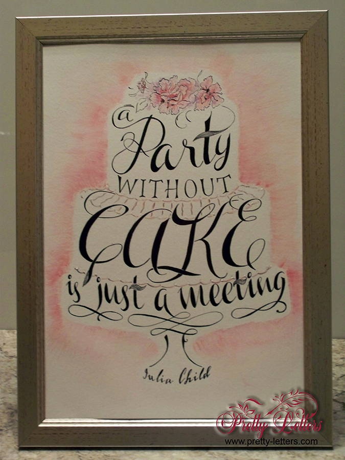 Wedding sign, Bespoke illustration