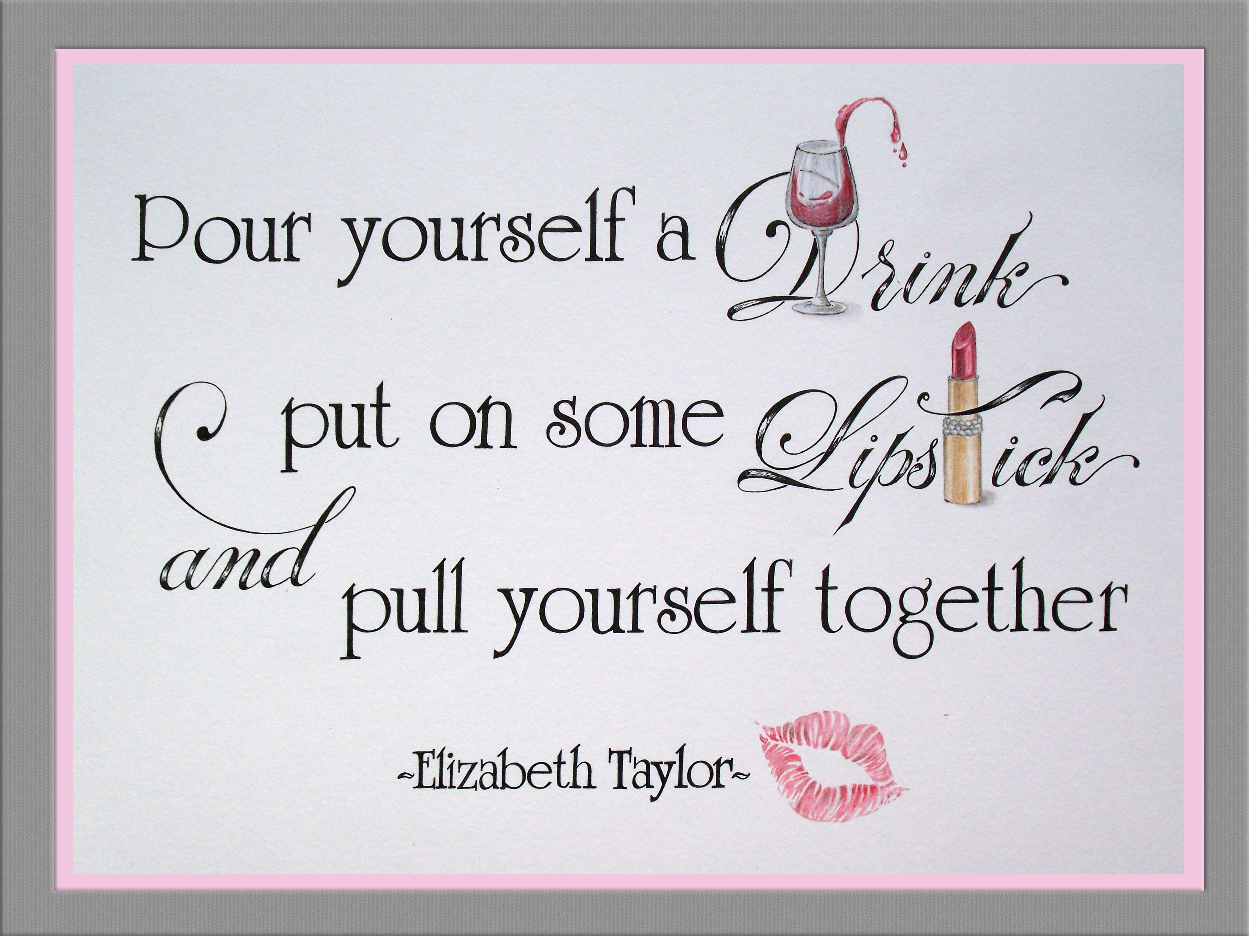Custom quote, bespoke illustration