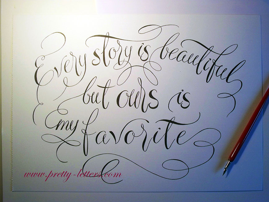 Every story is beautiful