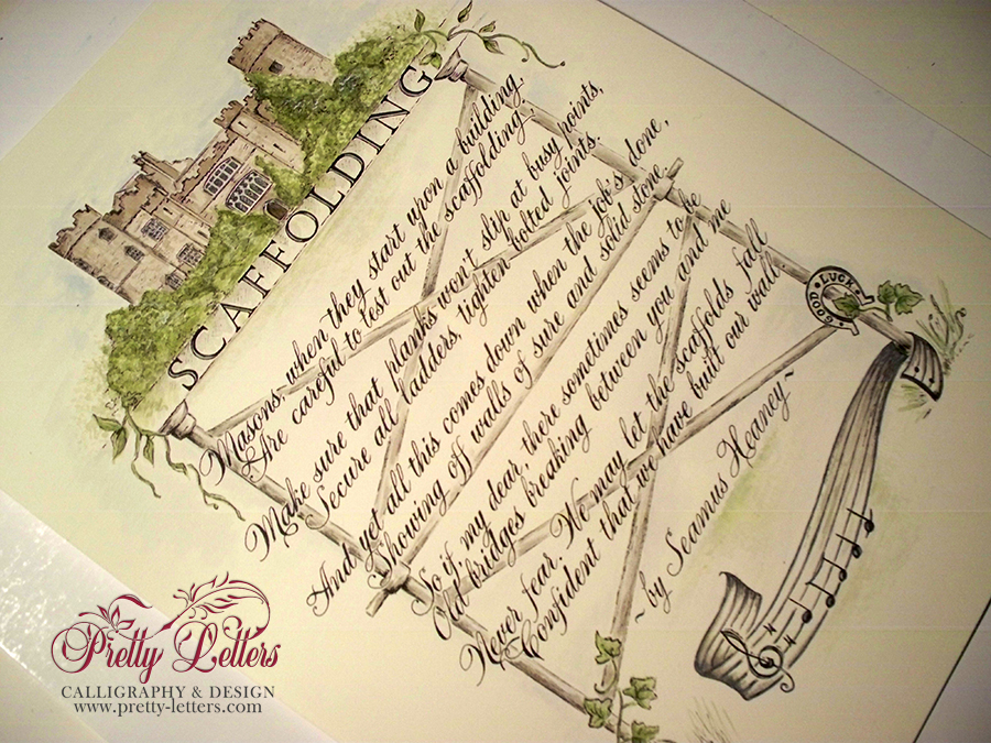 ... calligraphy and bespoke illustration | Pretty Letters Calligraphy