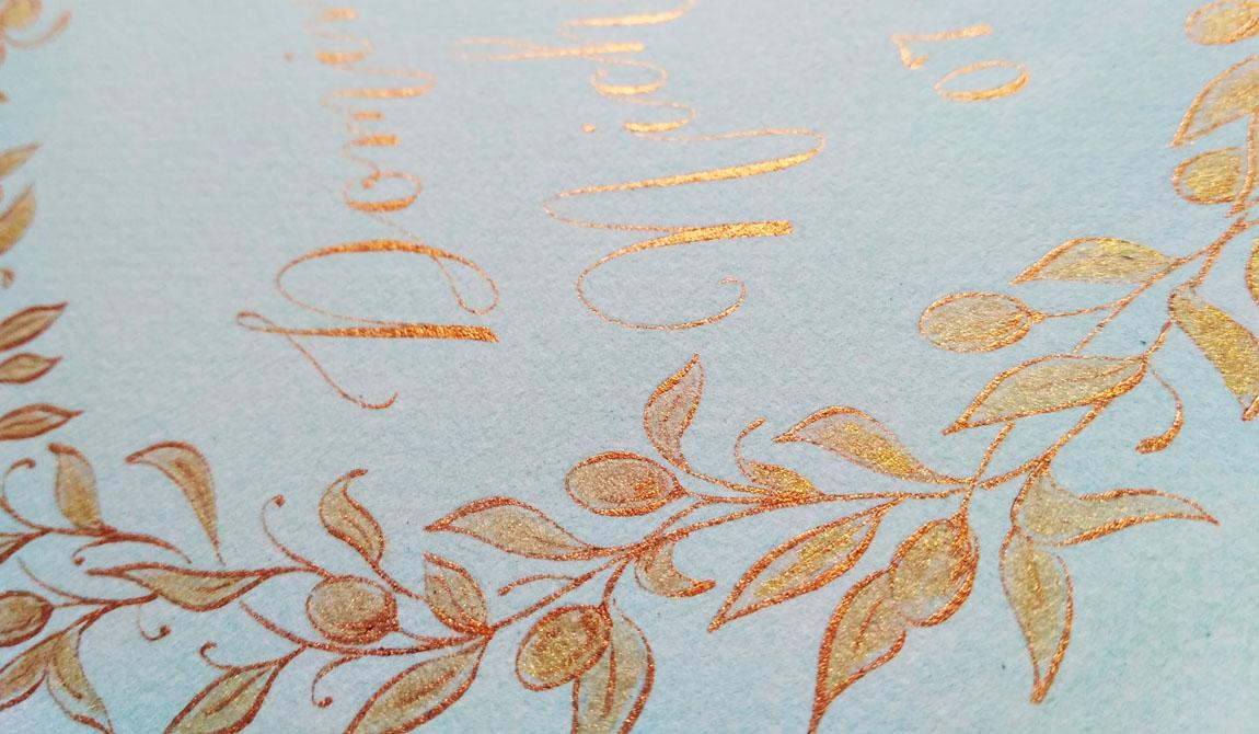 bespoke calligraphy